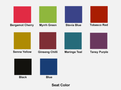 Seat Color Viola – Wooden Visitor Chair In Multicolour