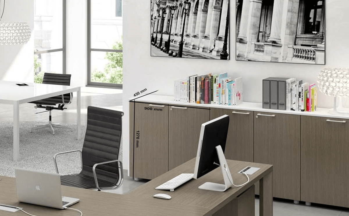 Size Bryony – Low Level Filing Cabinets With Locking Doors