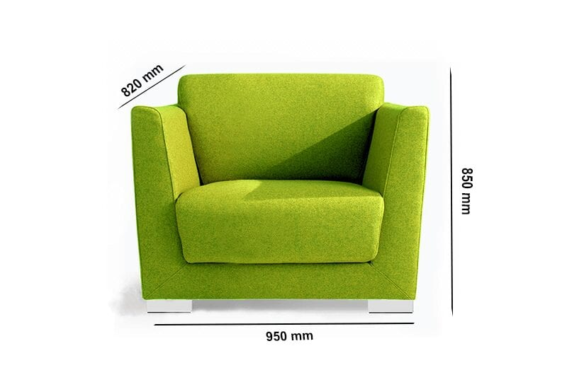 Jones – High Back with High Armchair in Multicolour
