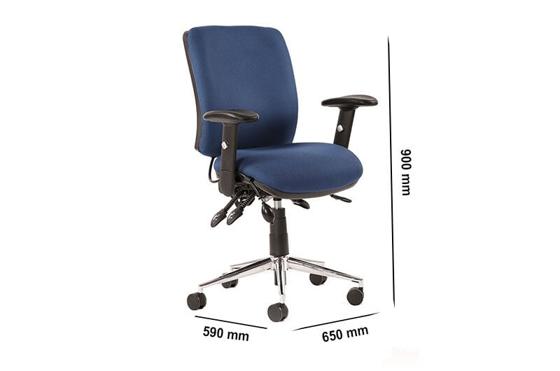 Selena 1 – Medium Back Task Operator Office Chair