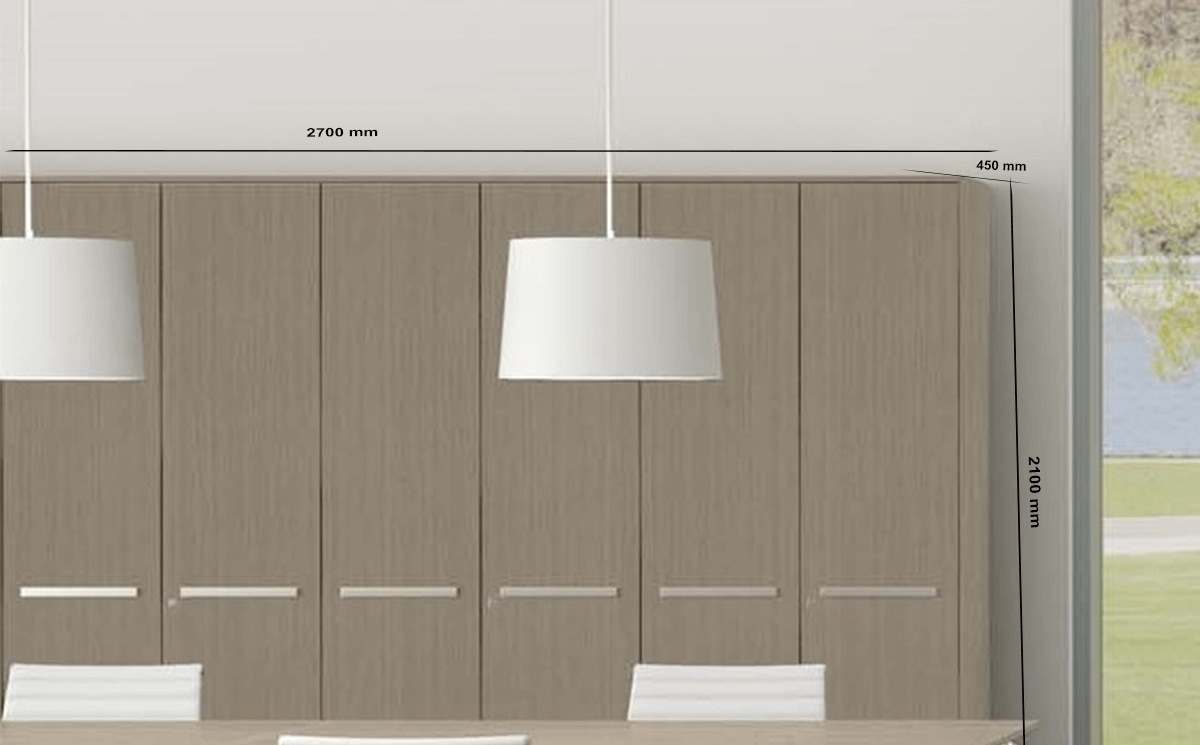 Size Clio – Full Height Filing Cupboard With Locking Door