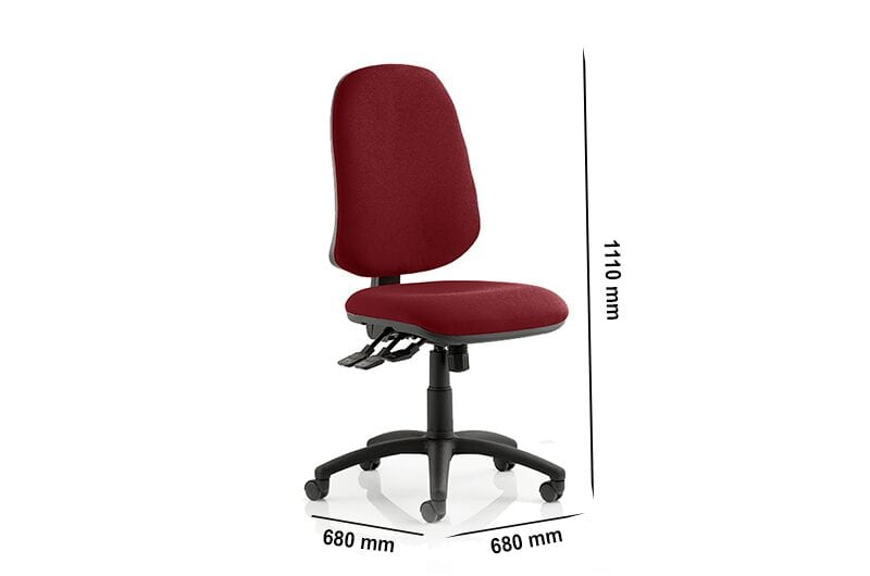 Esme XL – Multicolour Task Operator Office Chair