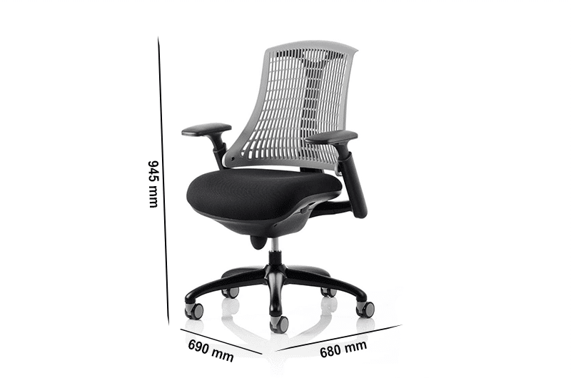 Echo – Task Operator Chair in Multicolour with Arms
