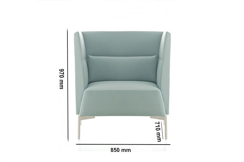Ashley – Armchair in Multicolour