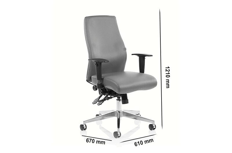 Nyra – Curved Bonded Leather Executive Chair
