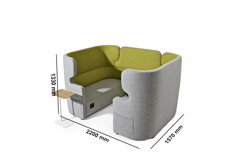 Tokyo – High Back Four-Seater Soundproof Pod