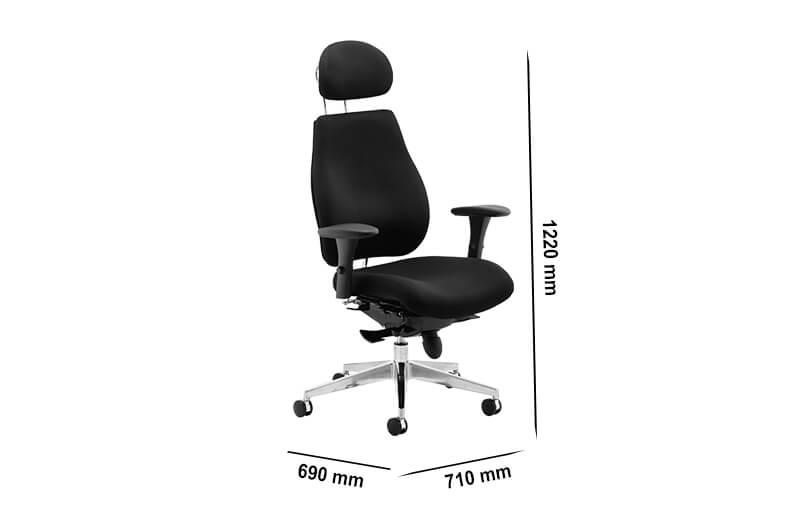 Size Selena – High Back Executive Chair With Headrest