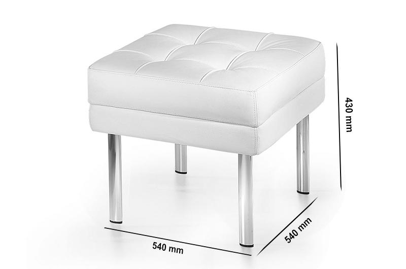 Size Tara – Leather Single Seater Bench Stool
