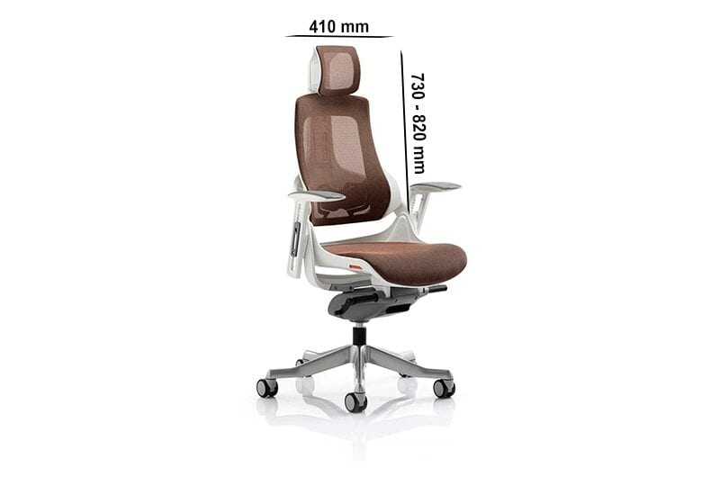 Ares – Mesh Executive Chair with Arms and Headrest
