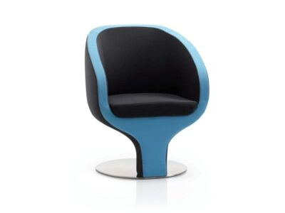 Tulip – Tub Visitor Chair in Blue and Black