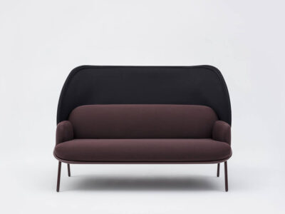 Windsor – Fabric Armchair With Shield And Metal Frame5