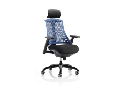 Echo – Task Operator Chair in Multicolour with Arms and Headrest
