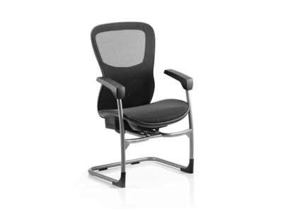 Bond – Mesh Back Operator Office Chair with Airmesh Seat in Black