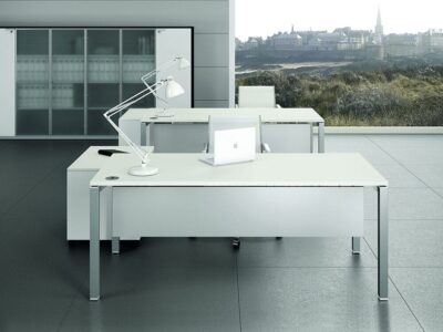 Cello 4 -Wood Finish Operational Office Desk