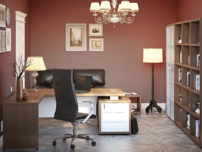Alfonso – Wood Finish Panelled Legs Executive Desk4