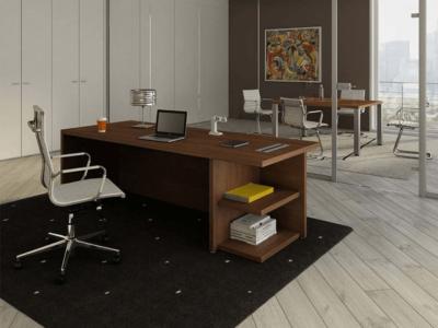 Alfonso – Wood Finish Panelled Legs Executive Desk8