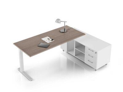 Forte – Square C Leg Executive Desk
