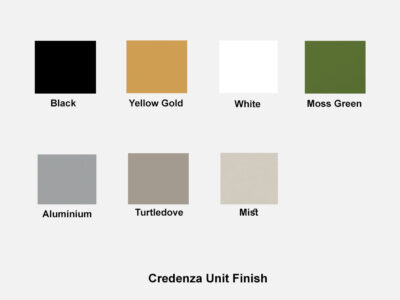 Credenza Unit Finish