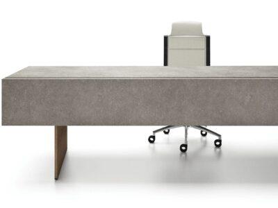 Darcey Prestigious Executive Desk with Porcelain Top
