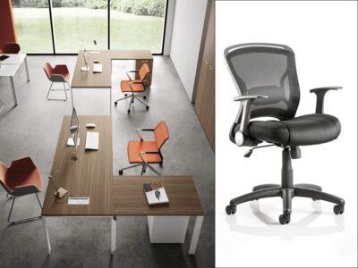 Evelyn – U-Leg Operational Office Desk