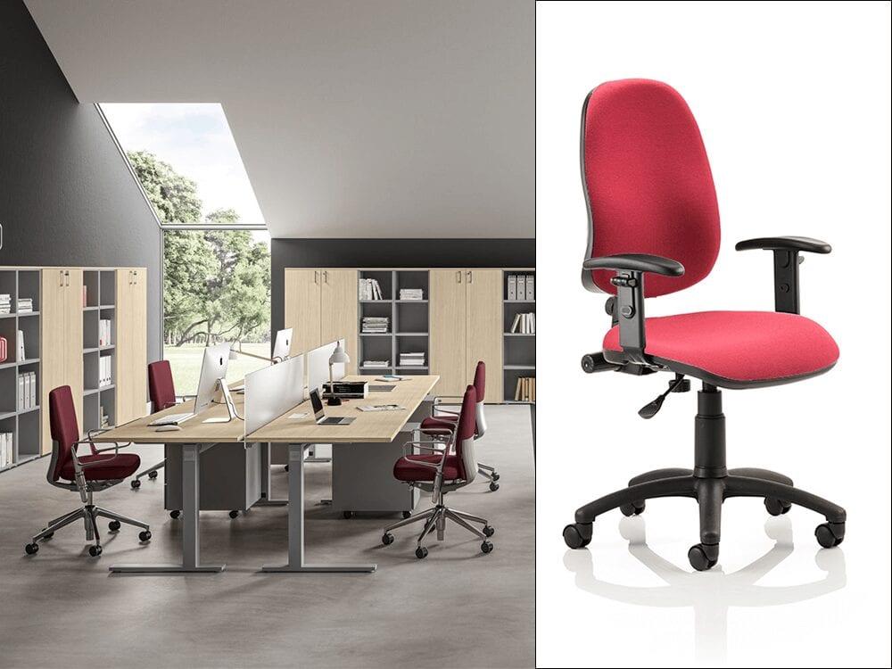 Linea – C Leg Office Desk