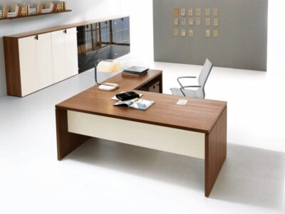 Brando - Executive Desk with Panelled Leg