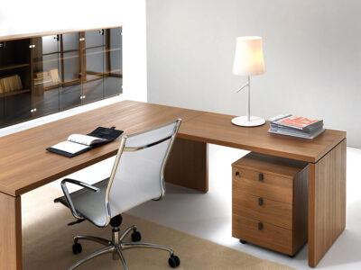 Lithos Desk With Return