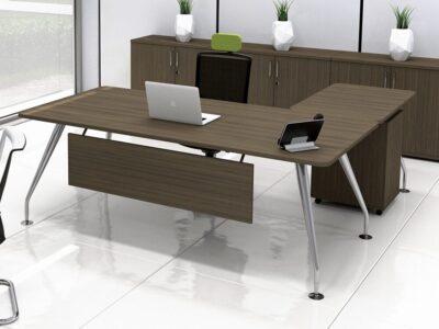 Lara Modern Wood Finish Executive Desk
