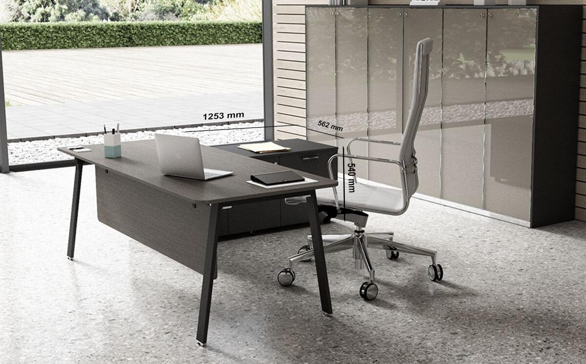 New Desk Storage Unit Dimension Images