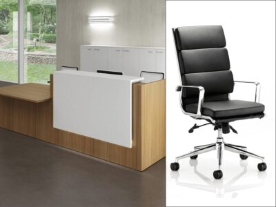 Nero 2 - Reception Desk with Right-Hand DDA Approved Wheelchair Access