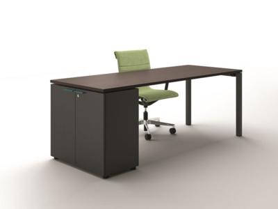 Nicolo Executive Desk With Goalpost U Leg3