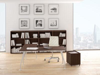 Segno Wood Top Desk