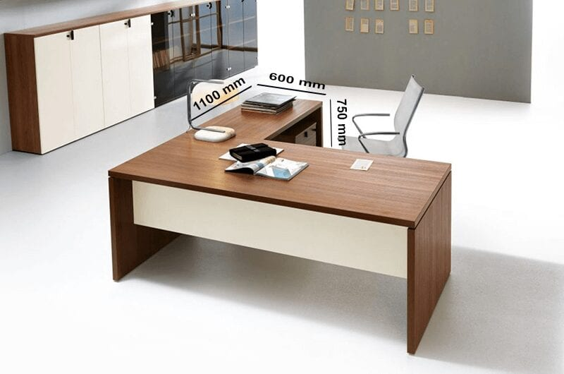 Brando - Executive Desk with Panelled Leg