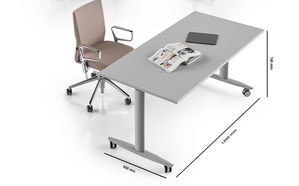 Piega – T-Flex Foldable & Stackable Office Desk