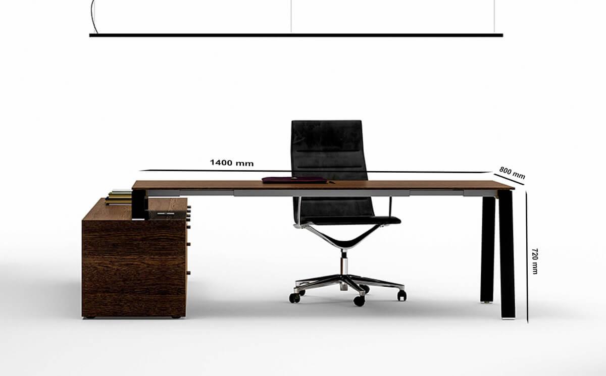 Size Take Off Bridge Desk For Service Cabinet Coupling