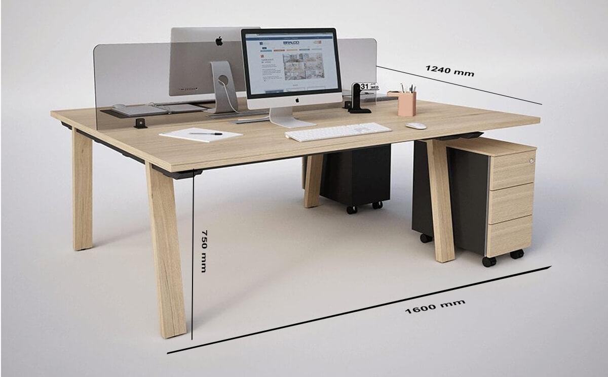 Size Franco Desk