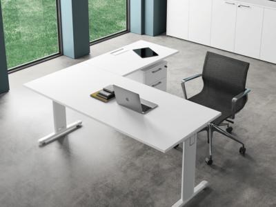 T Square White Operative Desk 1