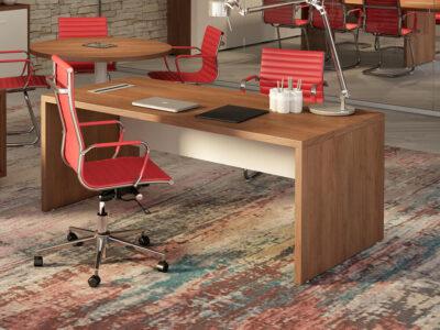 Brera Desk With Modestey Panel