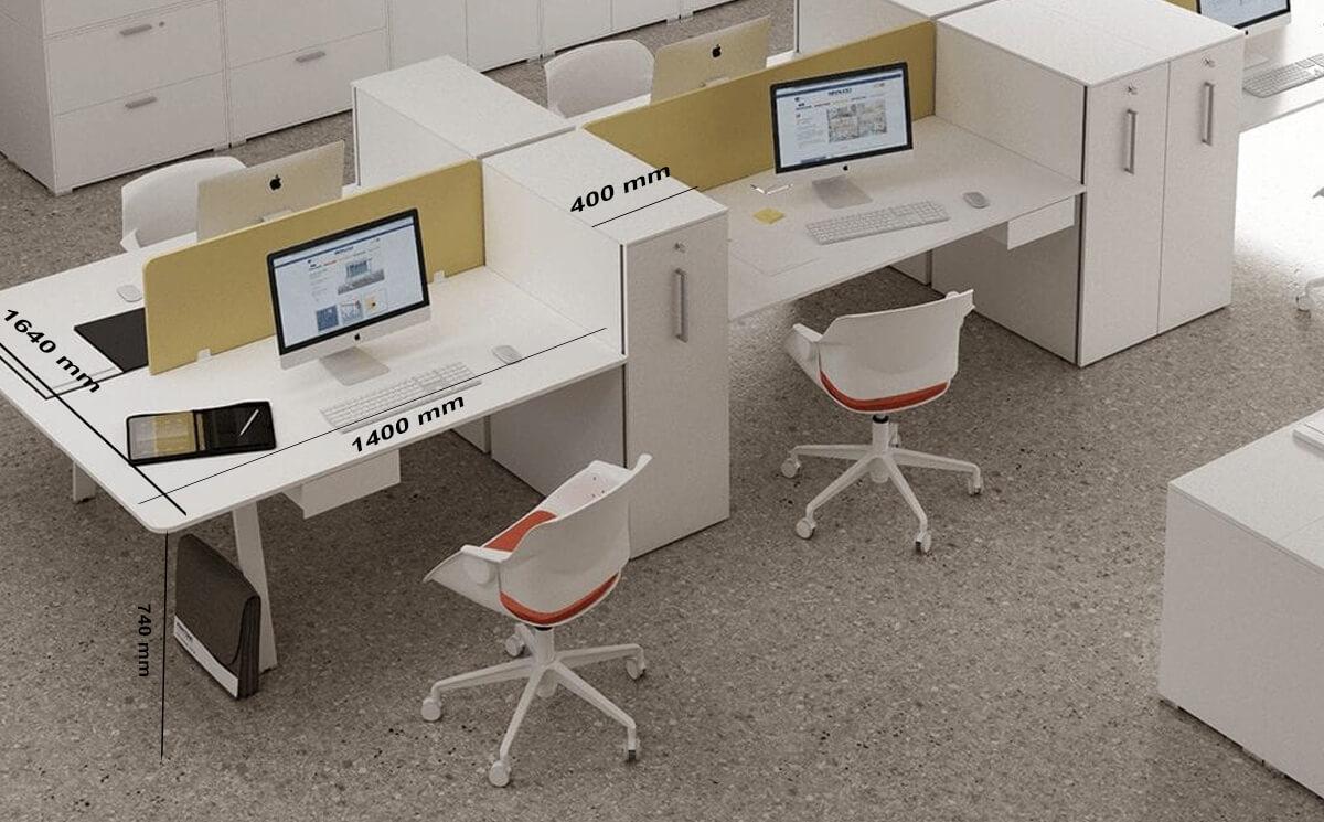 Size Simona 3 – Minimalist Office Task Desk
