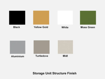Storage Unit Structure Finish