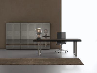Ernesto – Executive Desk With Leather Inlay2
