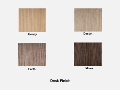Essence Executive Desk Desk Finish