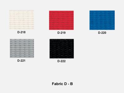 Fabric D Range B (kastel)