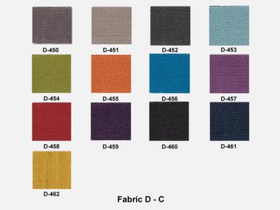 Fabric D Range C (kastel)