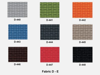 Fabric D Range E (kastel)