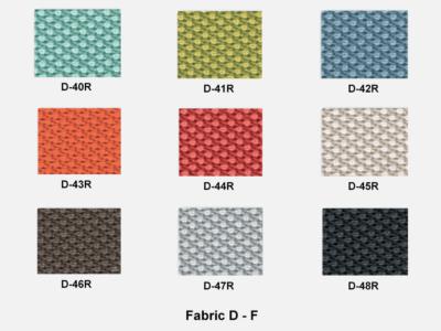Fabric D Range F (kastel)