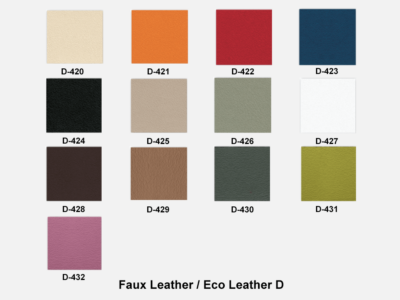 Faux Leather D (kastel)