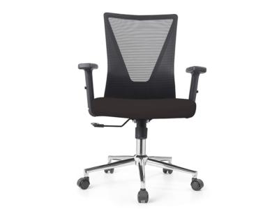Low Back Black Mesh Operators Revolving Chair Mainimg