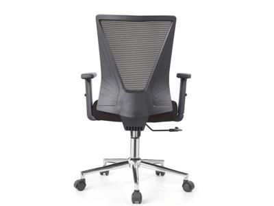 Low Back Grey Mesh Operators Revolving Chair 2