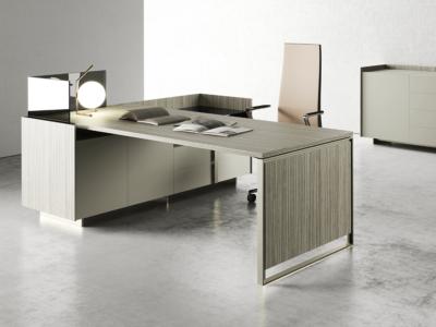 Magenta Operational Desk With Drawer Unit Mainimg